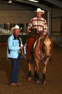 Michael wins WES championship Reining 2011